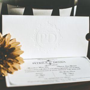 Invitatie 140 - Timbru sec