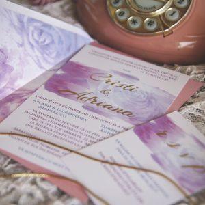 INVITAȚIE 107 – roz